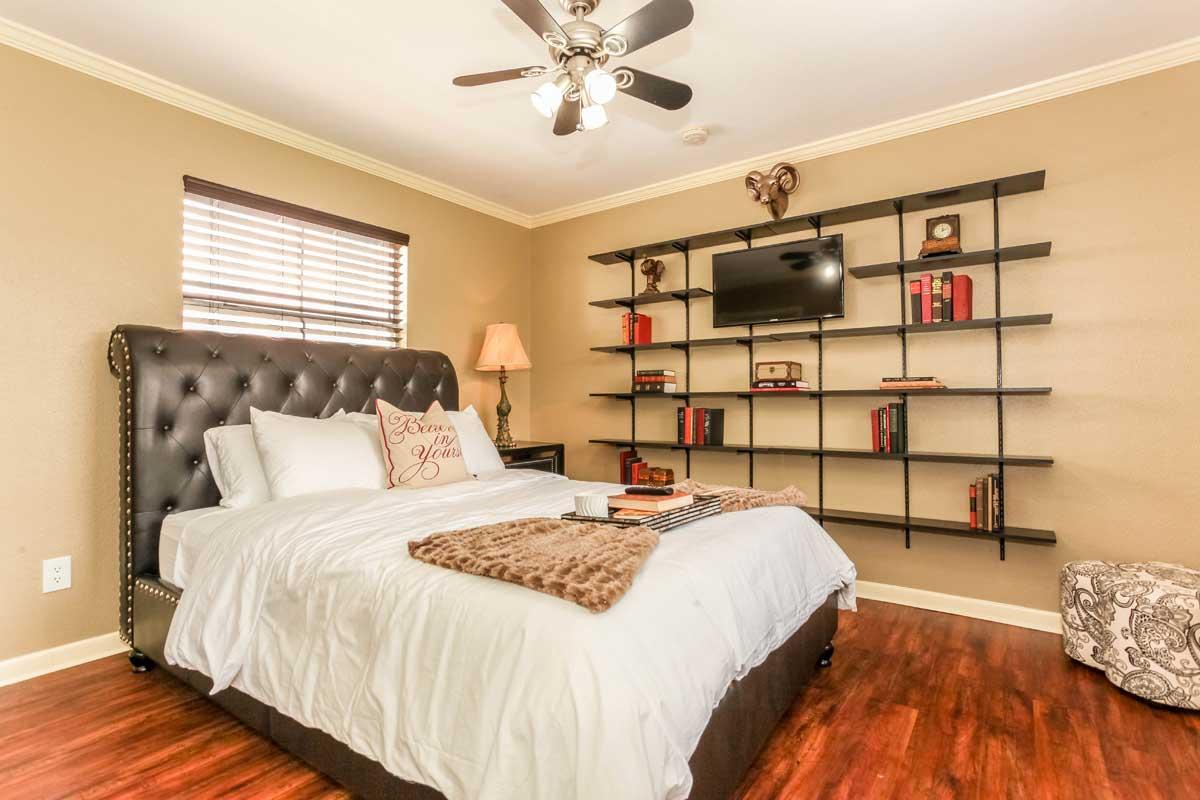 Swanky Loft Bedroom