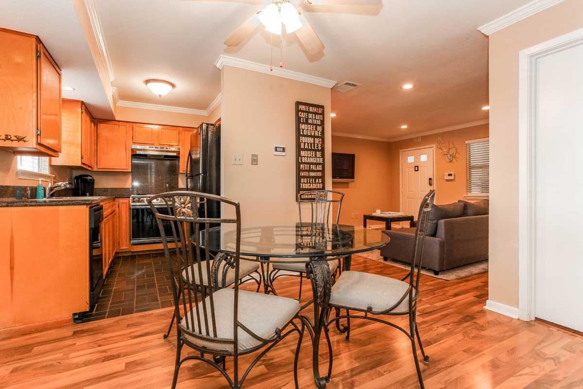 Austin Condo Living Space
