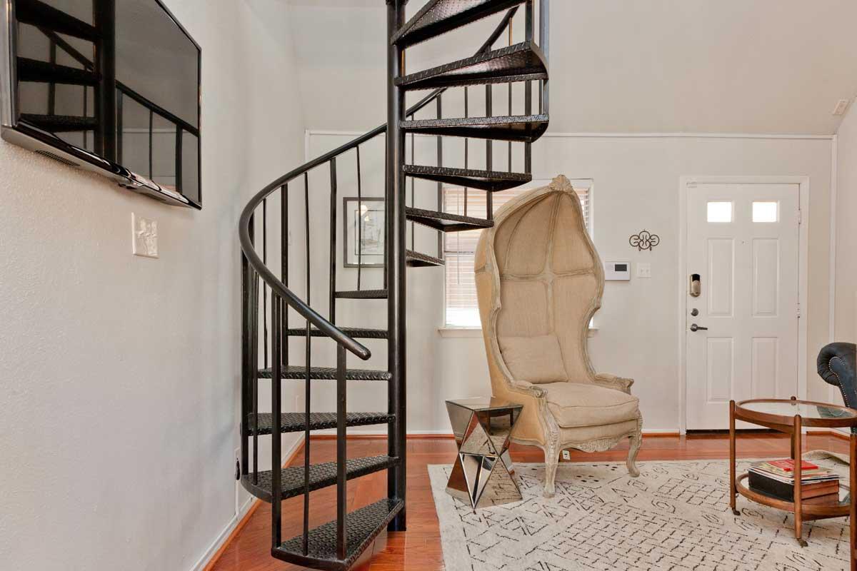 argyle spiral staircase