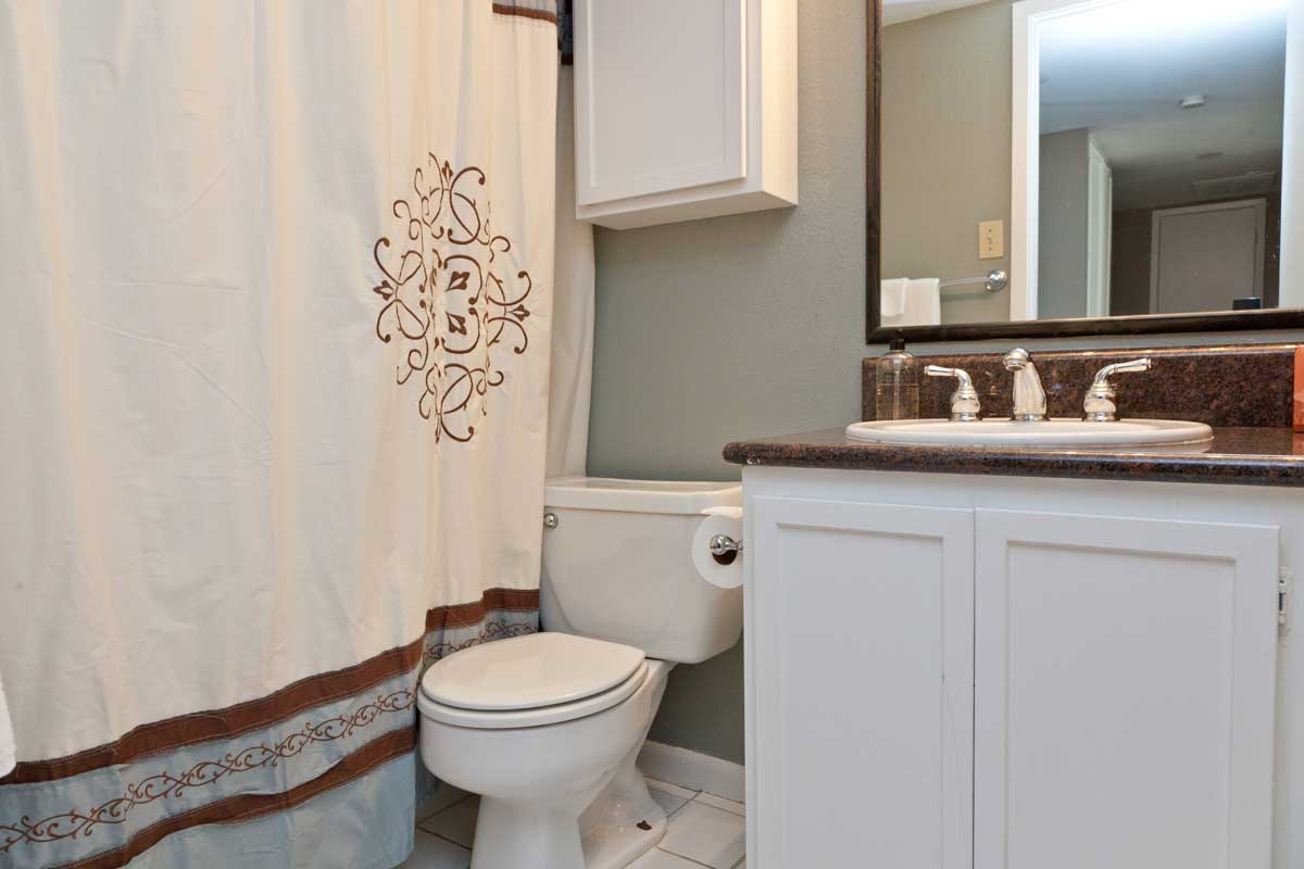 A Standard Guest Bathroom