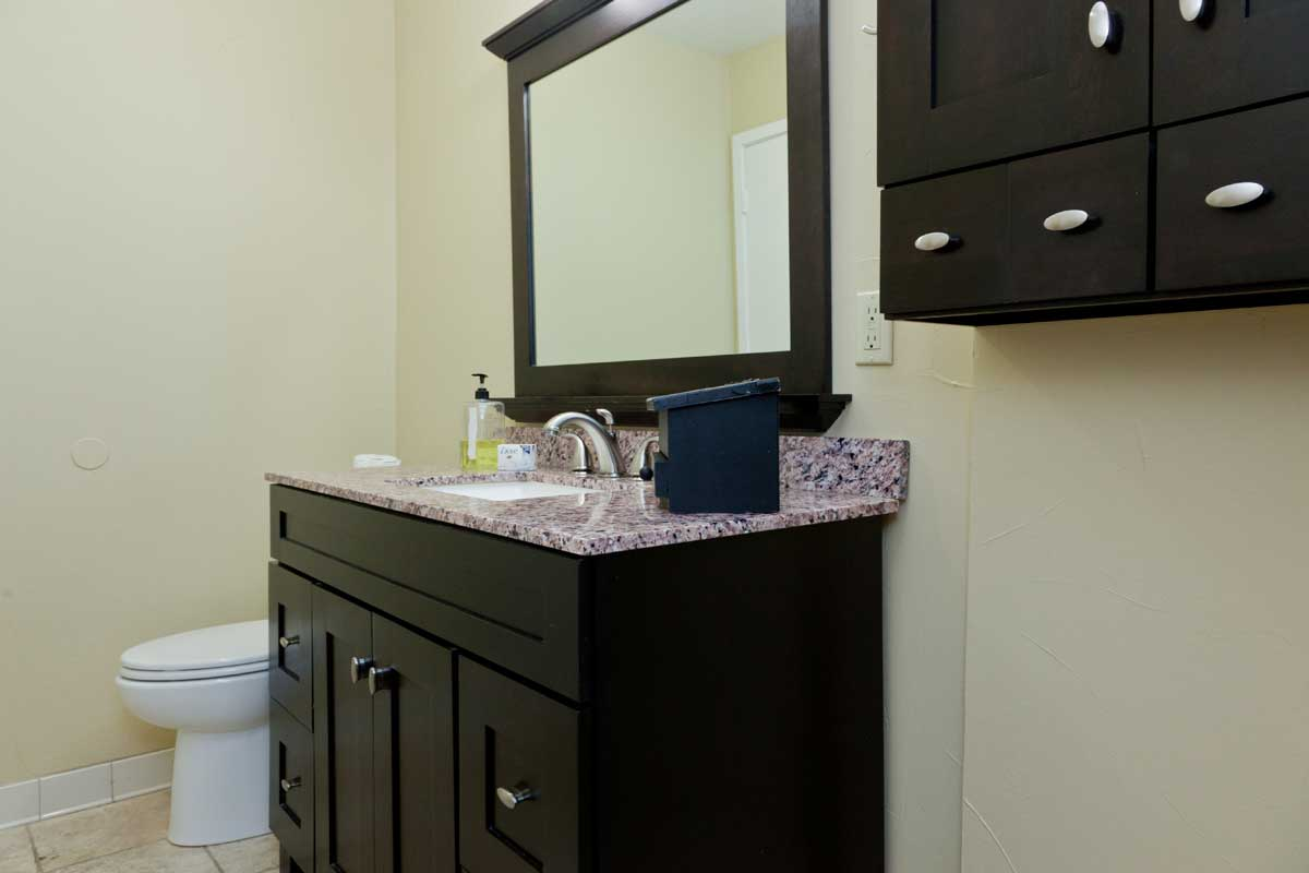 Remodeled Vacation Rental Bathroom