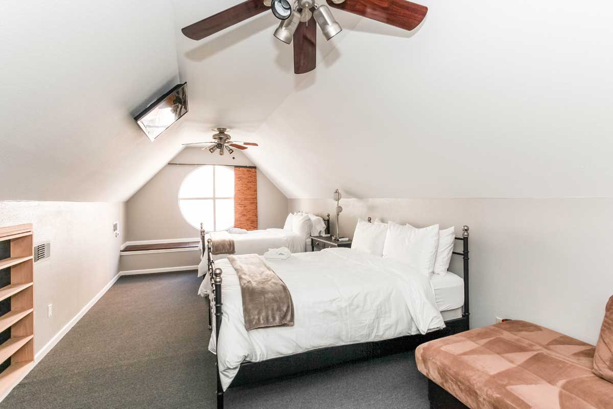 The Spacious Loft Suite in Austin