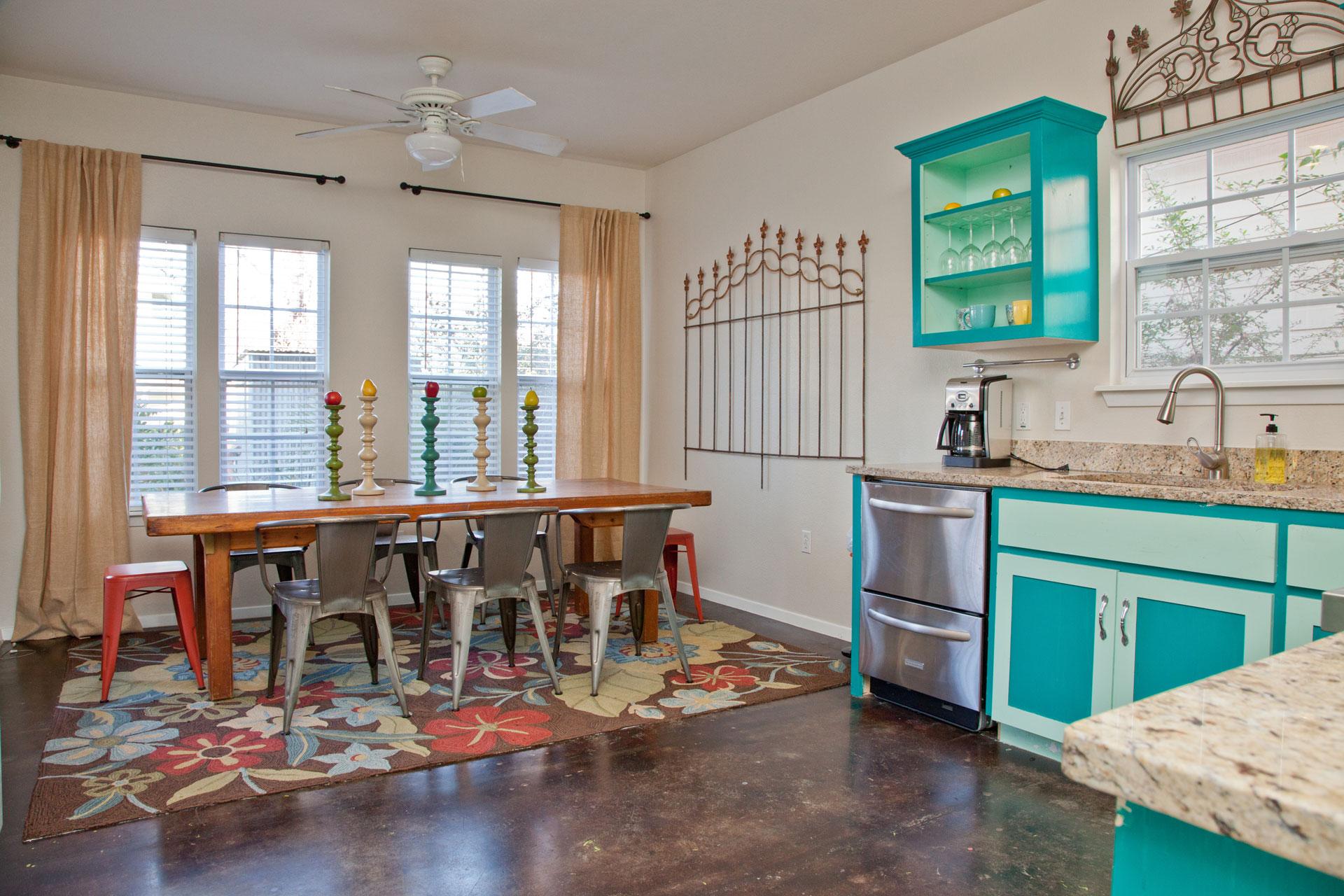 East Austin Vacation Rental Kitchen