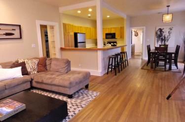 Lady Bird House living room